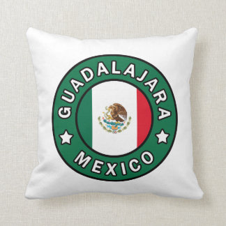 Guadalajara Mexico pillow