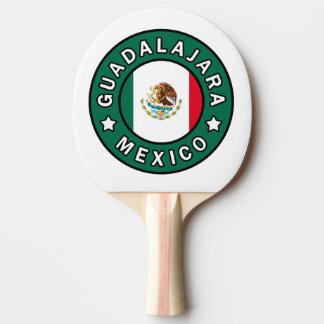 Guadalajara Mexico Ping Pong Paddle