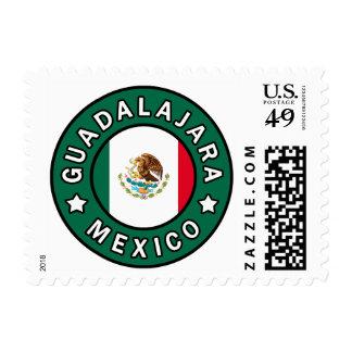 Guadalajara Mexico Postage