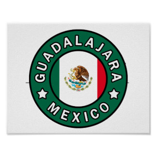 Guadalajara Mexico Poster