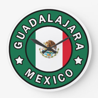 Guadalajara México Reloj Redondo Grande