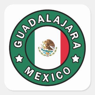 Guadalajara Mexico Square Sticker