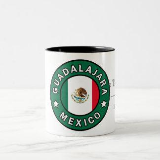Guadalajara México Taza De Dos Tonos