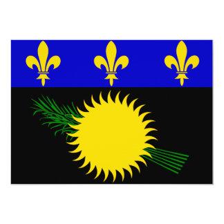 Guadaloupe Flag Card