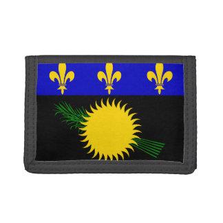 Guadaloupe Flag Tri-fold Wallet