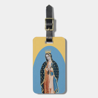 Guadalupe Blue Luggage Tag