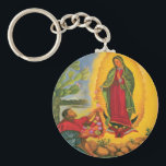 "guadalupe keychain<br><div class=""desc"">All images of Mary were from oil on canvas.  Pray whatever you wish.. the answer ALWAYS YES from her.  Your job is to BELIEVE and hold that belief in your mind&#39;s eyes as if it is done.</div>"