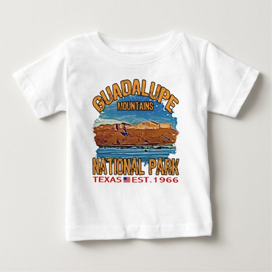 Guadalupe Mountains National Park Baby T-Shirt