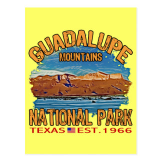 Guadalupe Mountains National Park Postcard