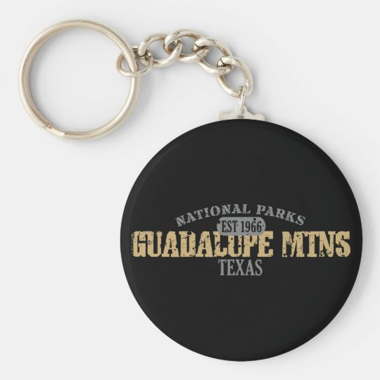 Guadalupe Mtns National Park Keychain