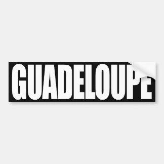 Guadalupe Pegatina Para Auto