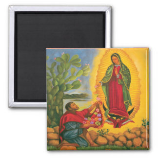 Guadalupe Prayer Magnet