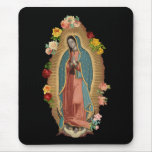 Guadalupe Rose Mousepad
