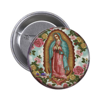 GUADALUPE VIRGEN CUSTOMIZABLE PRODUCTS BUTTONS
