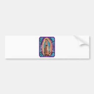 GUADALUPE VIRGIN  02 CUSTOMIZABLE PRODUCTS BUMPER STICKER