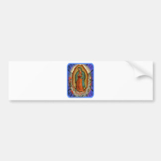 GUADALUPE VIRGIN  04  CUSTOMIZABLE PRODUCTS BUMPER STICKER