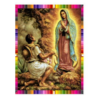 GUADALUPE VIRGIN  MEXICO 24 CUSTOMIZABLE PRODUCTS POSTCARD