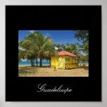 Guadeloupe-beach, Guadeloupe Poster