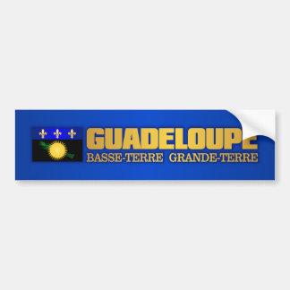 Guadeloupe Flag Bumper Sticker