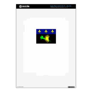 guadeloupe-flag- iPad 3 decal