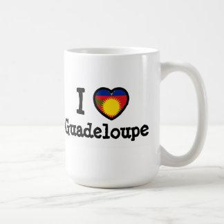 Guadeloupe Flag Coffee Mug