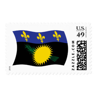 Guadeloupe Flag Stamps