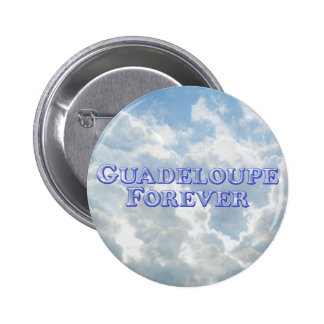 Guadeloupe Forever - Bevel Basic Button