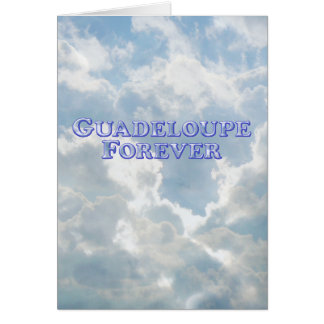 Guadeloupe Forever - Bevel Basic Card