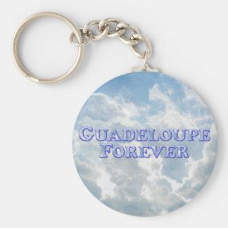 Guadeloupe Forever - Bevel Basic Key Chains
