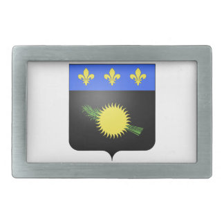Guadeloupe (France) Coat of Arms Rectangular Belt Buckles