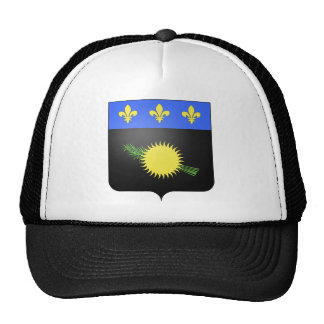 Guadeloupe (France) Coat of Arms Trucker Hats