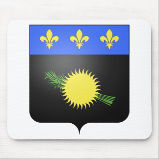 Guadeloupe (France) Coat of Arms Mouse Pad