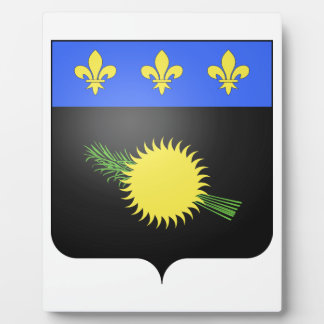 Guadeloupe (France) Coat of Arms Display Plaques