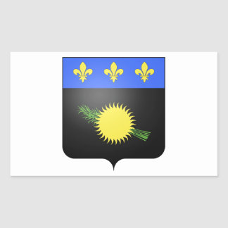 Guadeloupe (France) Coat of Arms Sticker