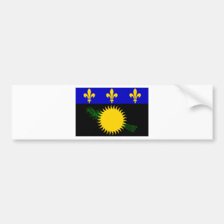 Guadeloupe (France) Flag Bumper Sticker