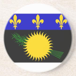 Guadeloupe (France) Flag Coaster