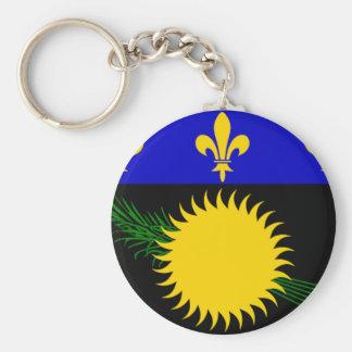 Guadeloupe (France) Flag Key Chain