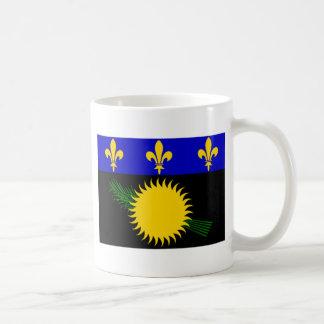 Guadeloupe (France) Flag Coffee Mugs
