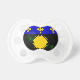 Guadeloupe (France) Flag Pacifier