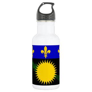 Guadeloupe (France) Flag 18oz Water Bottle