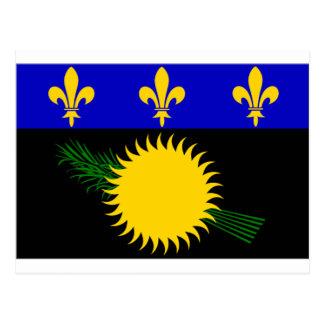 Guadeloupe (France) Flag Postcard