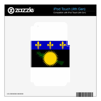 Guadeloupe (France) Flag iPod Touch 4G Skins