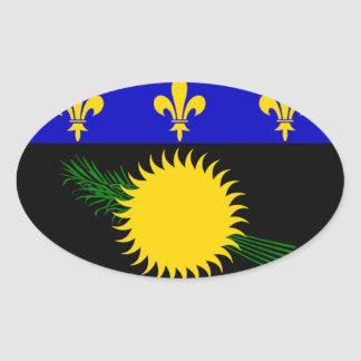 Guadeloupe (France) Flag Sticker