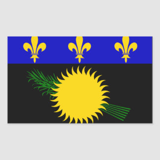 Guadeloupe (France) Flag Stickers