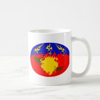 Guadeloupe Gnarly Flag Mug