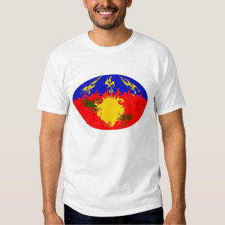 Guadeloupe Gnarly Flag T-Shirt