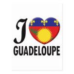 Guadeloupe Love Postcards