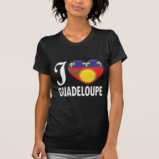 Guadeloupe Love W Tee Shirt