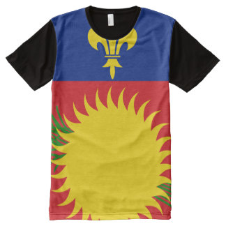 Guadeloupe  National flag  Shirt