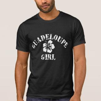 Guadeloupe Pink Girl T-Shirt